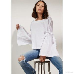 NWT Free People Bell Long top blouse